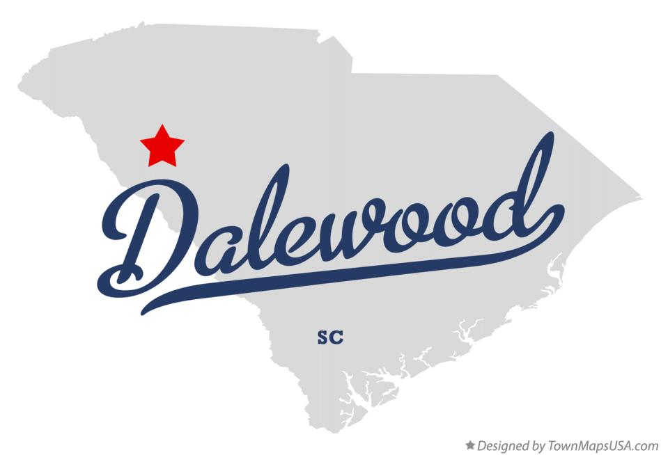 Map of Dalewood South Carolina SC
