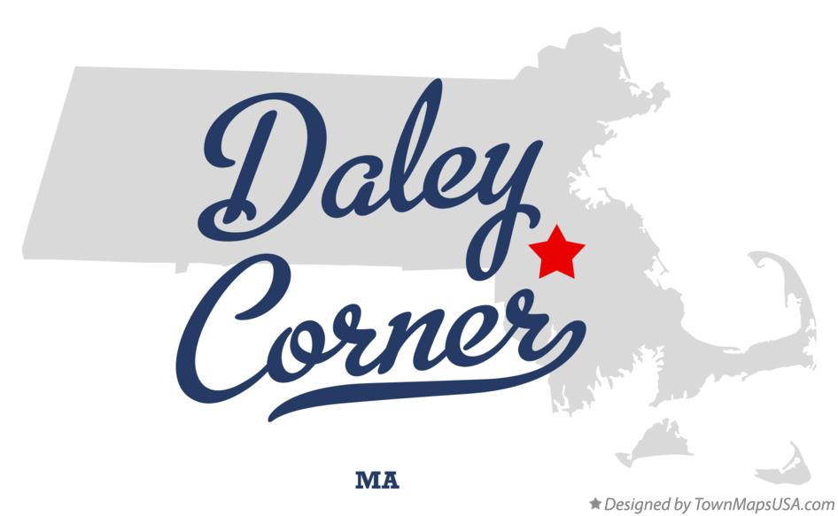 Map of Daley Corner Massachusetts MA