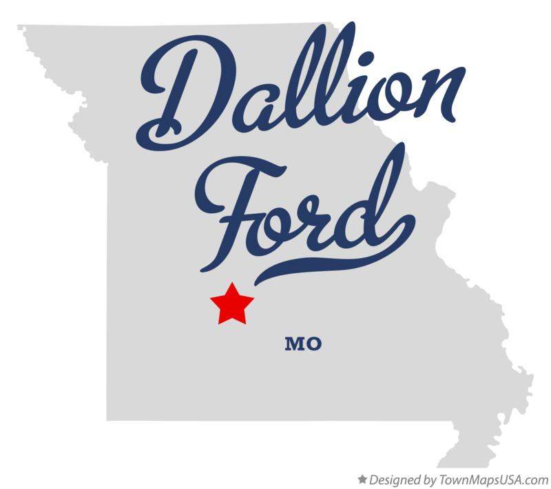 Map of Dallion Ford Missouri MO