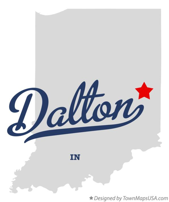 Map of Dalton Indiana IN