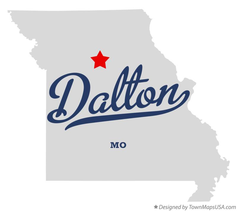 Map of Dalton Missouri MO