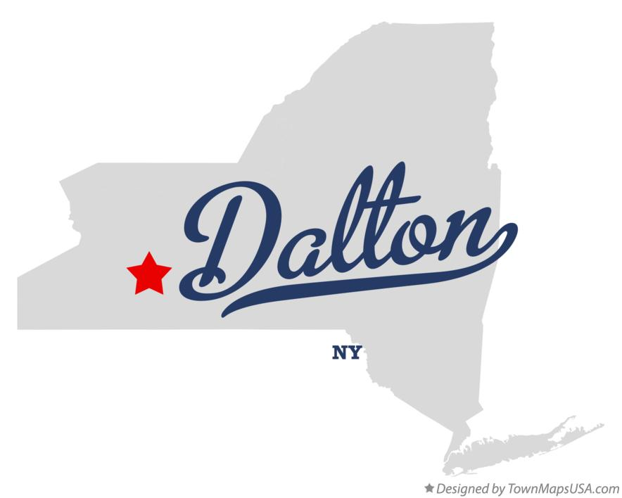 Map of Dalton New York NY