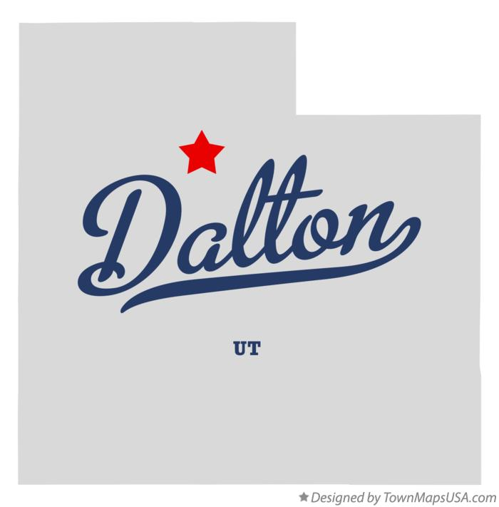 Map of Dalton Utah UT