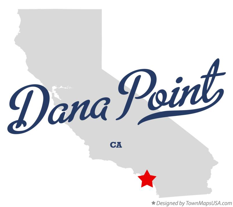 Map of Dana Point California CA