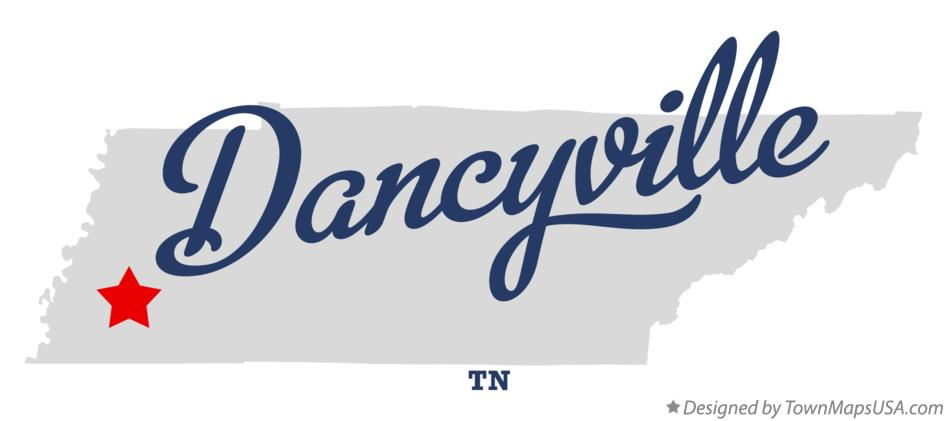 Map of Dancyville Tennessee TN