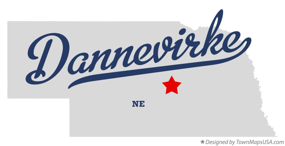 Map of Dannevirke Nebraska NE