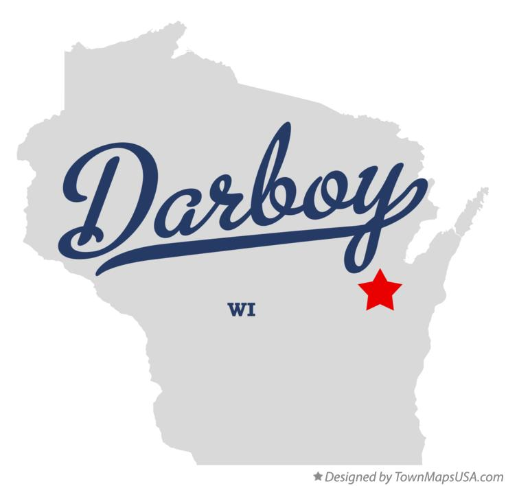 Map of Darboy Wisconsin WI