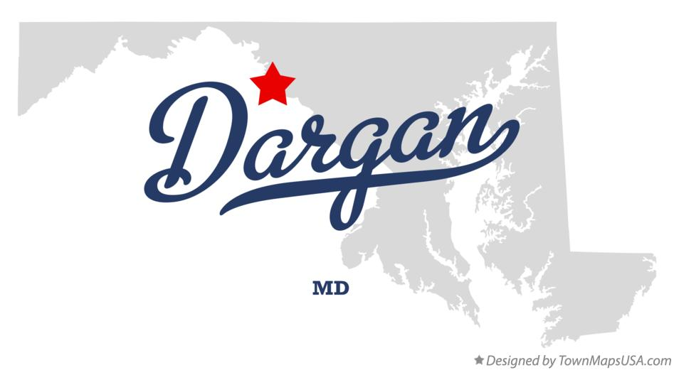 Map of Dargan Maryland MD