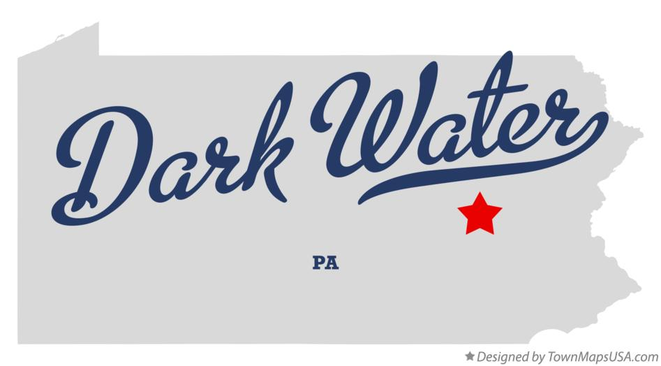 Map of Dark Water Pennsylvania PA
