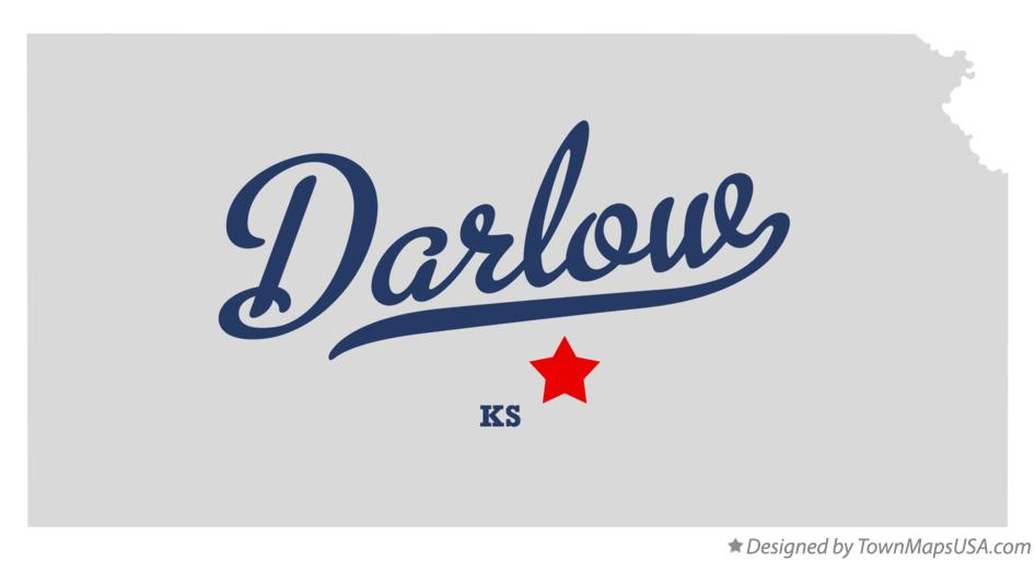Map of Darlow Kansas KS