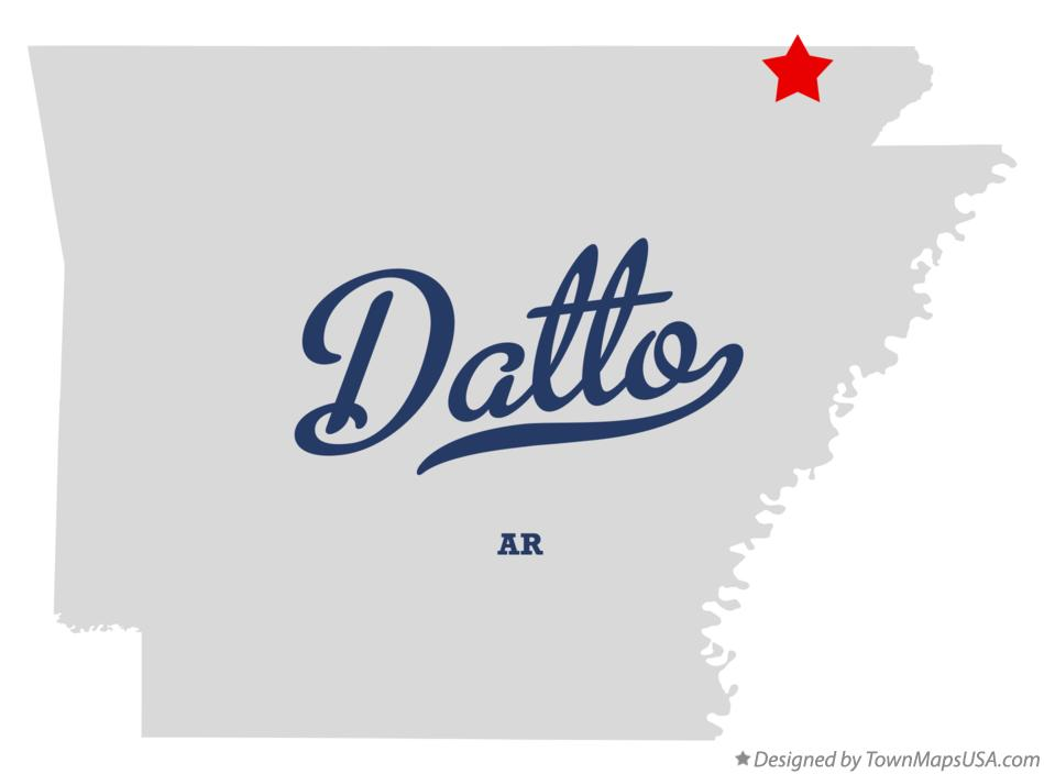Map of Datto Arkansas AR