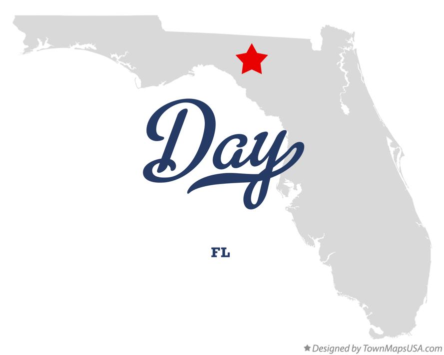 Map of Day Florida FL