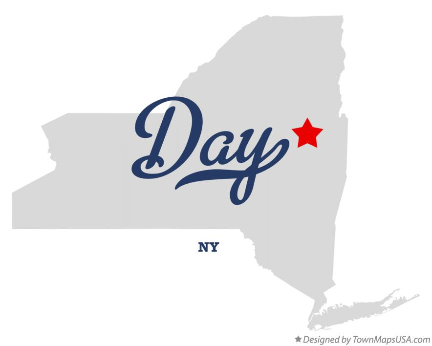 Map of Day New York NY
