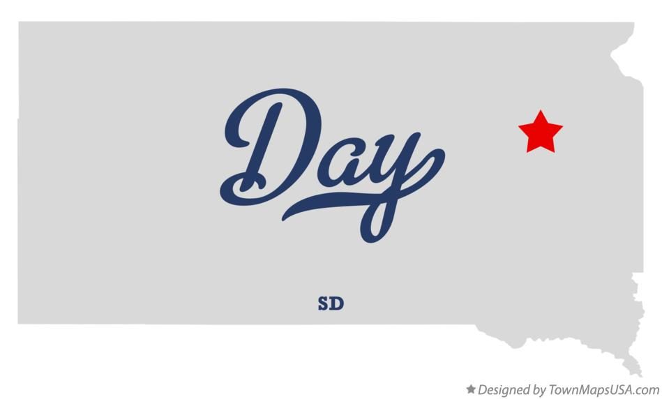Map of Day South Dakota SD