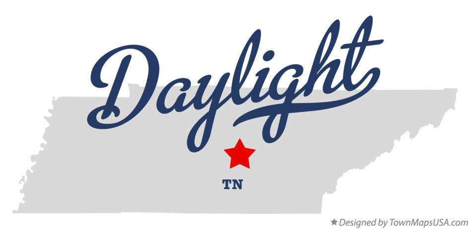 Map of Daylight Tennessee TN