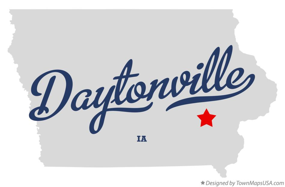 Map of Daytonville Iowa IA