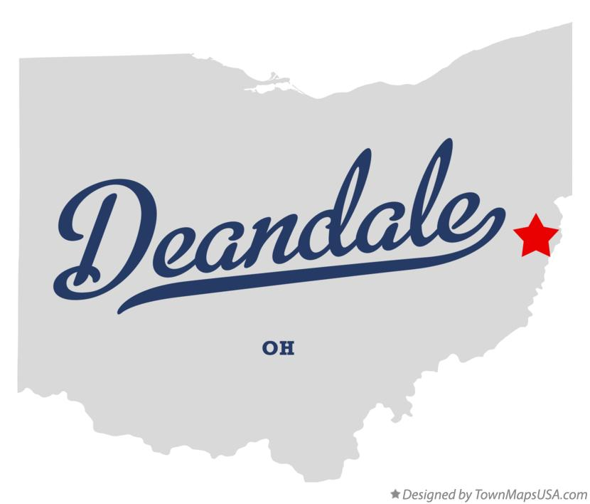 Map of Deandale Ohio OH