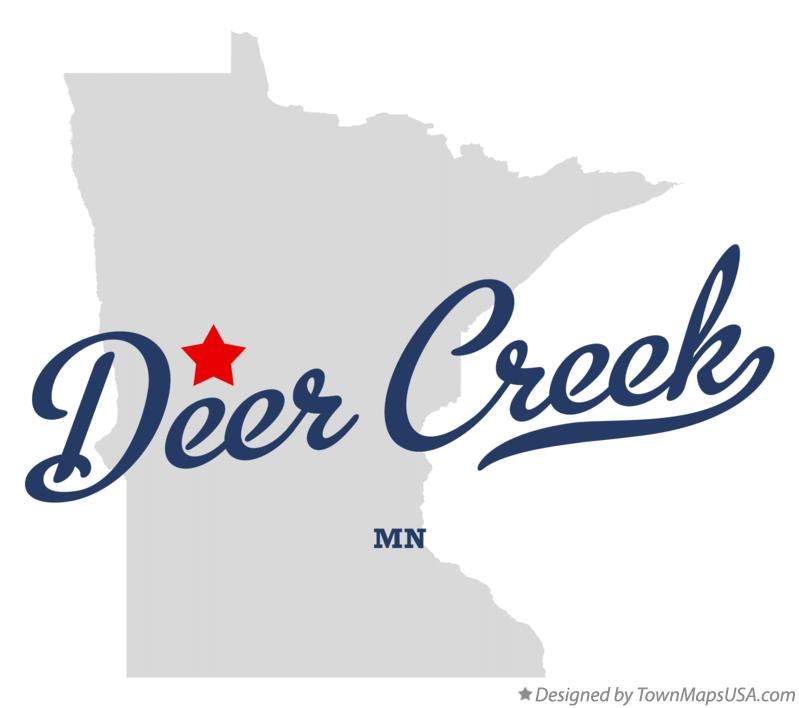 Map of Deer Creek Minnesota MN