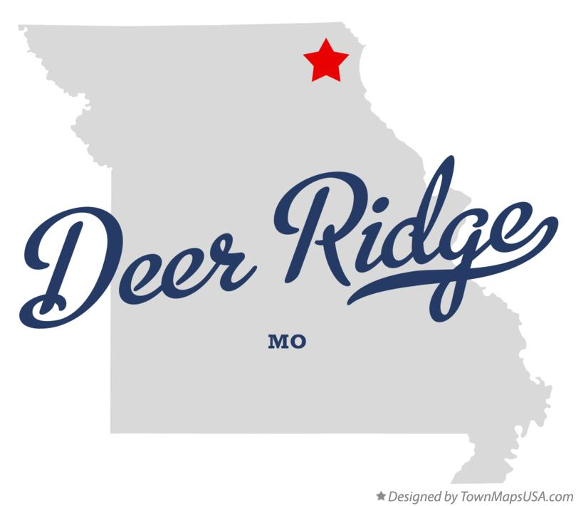 Map of Deer Ridge Missouri MO