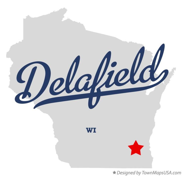 Map of Delafield Wisconsin WI