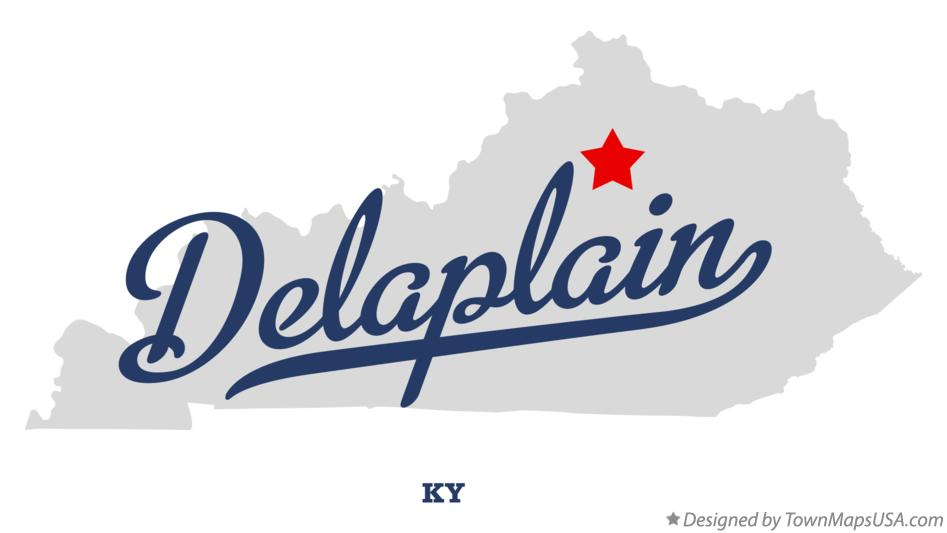 Map of Delaplain Kentucky KY