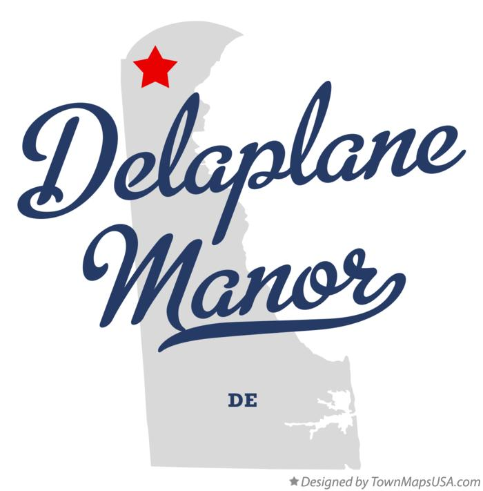 Map of Delaplane Manor Delaware DE
