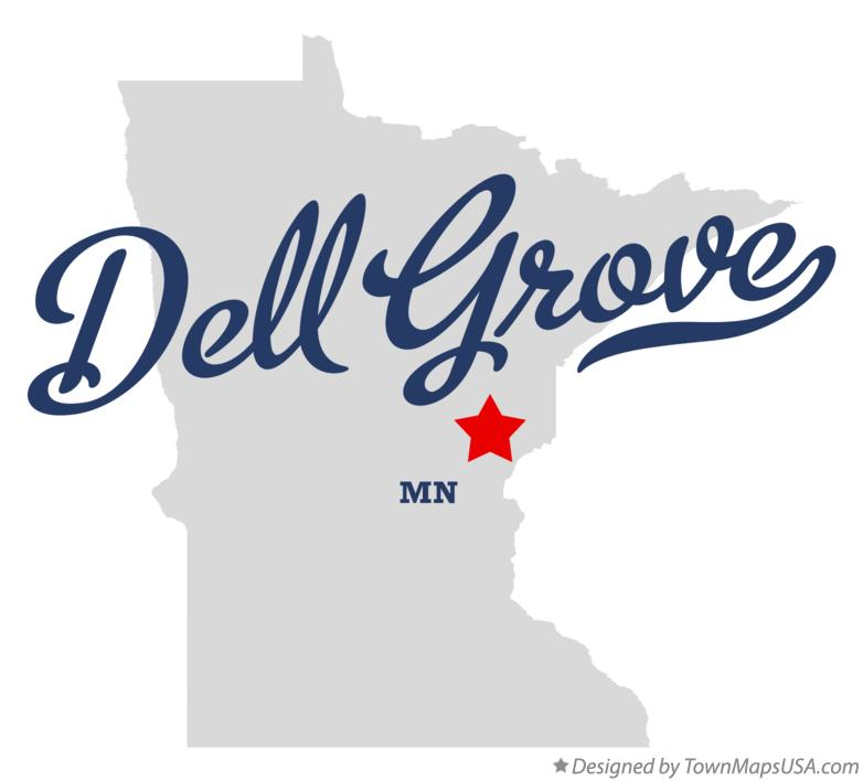 Map of Dell Grove Minnesota MN