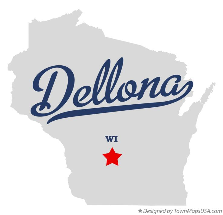 Map of Dellona Wisconsin WI