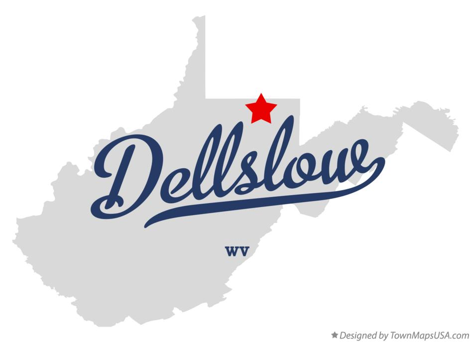 Map of Dellslow West Virginia WV