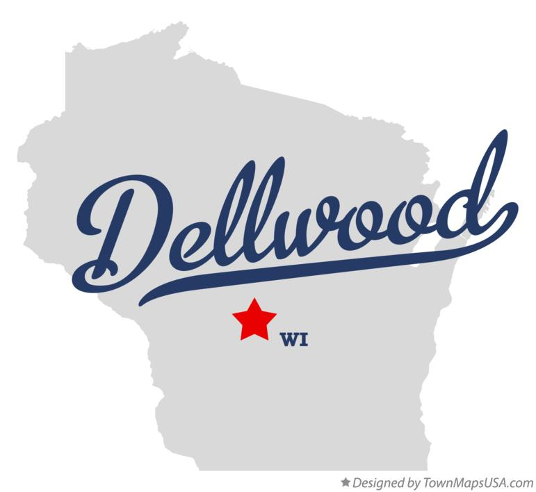 Map of Dellwood Wisconsin WI