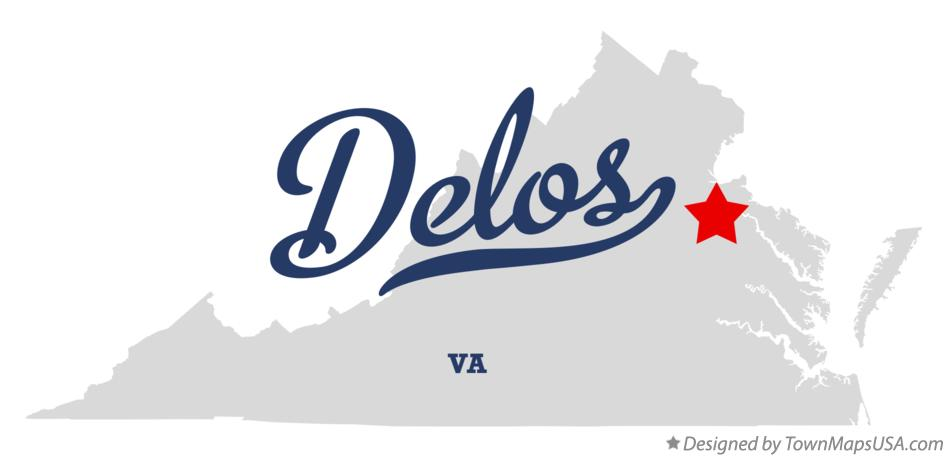 Map of Delos Virginia VA