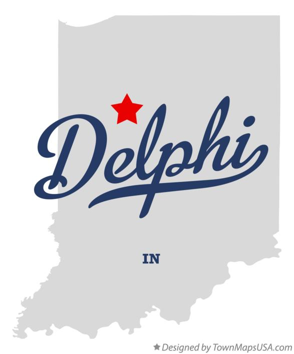 Map Of Delphi In Indiana
