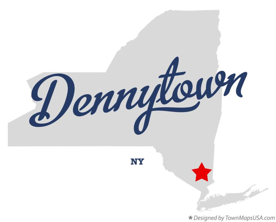 Map of Dennytown New York NY