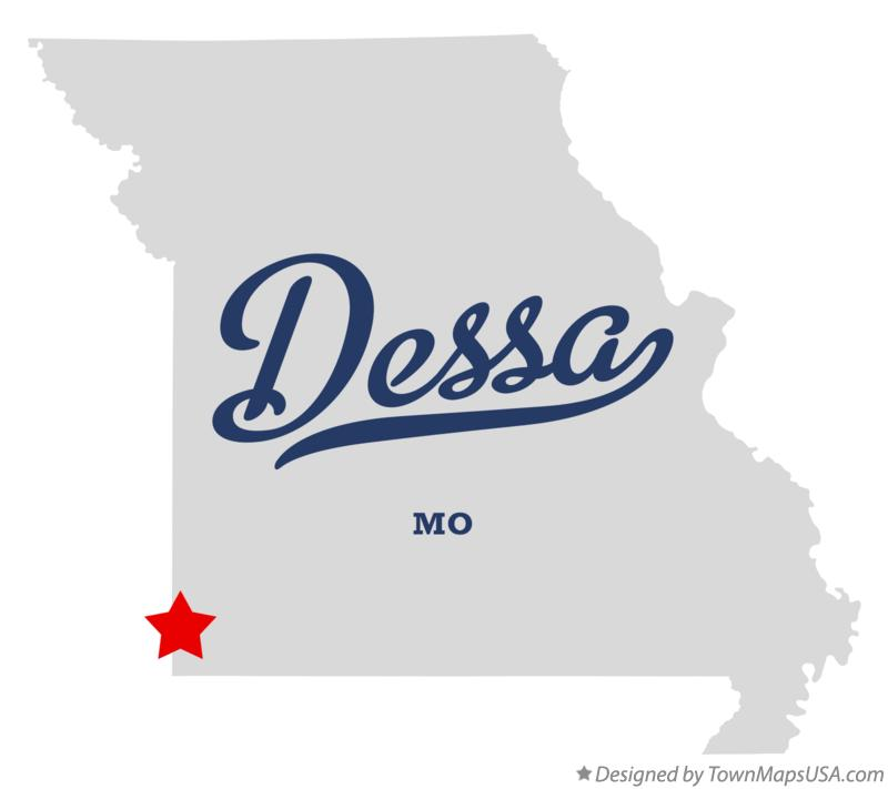 Map of Dessa Missouri MO