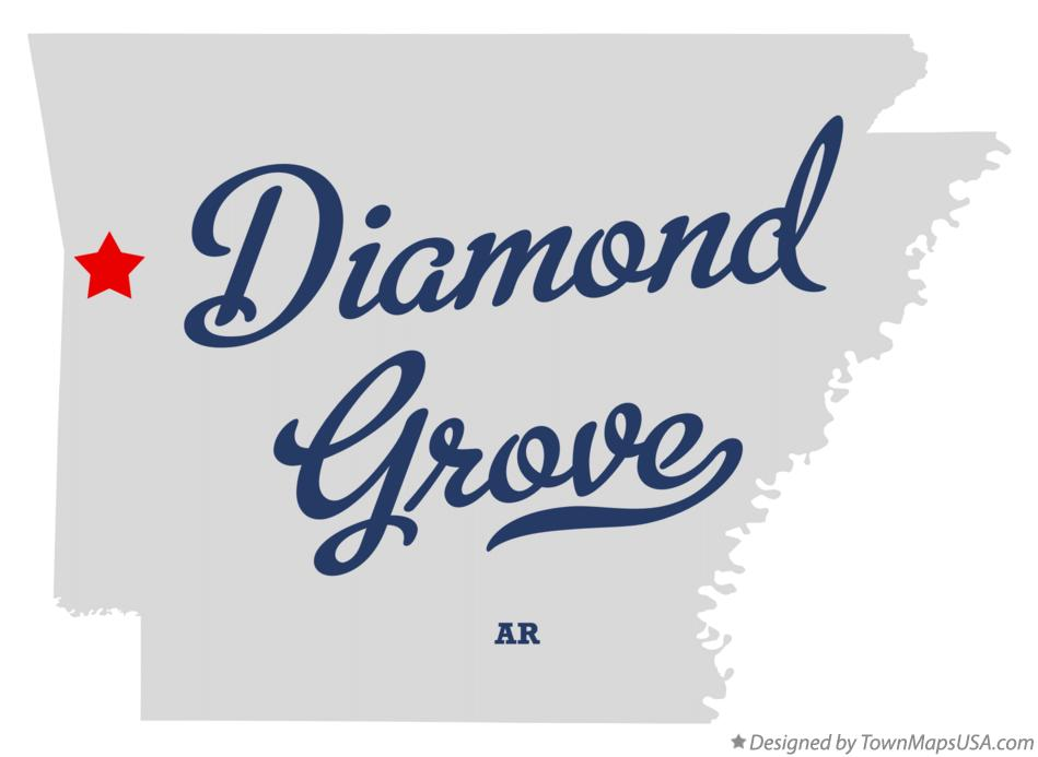 Map of Diamond Grove Arkansas AR