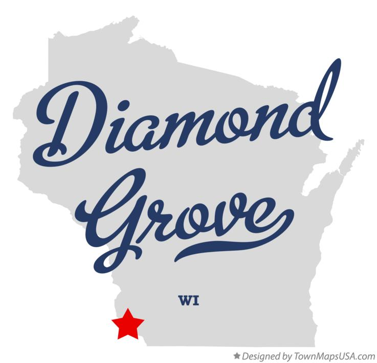 Map of Diamond Grove Wisconsin WI