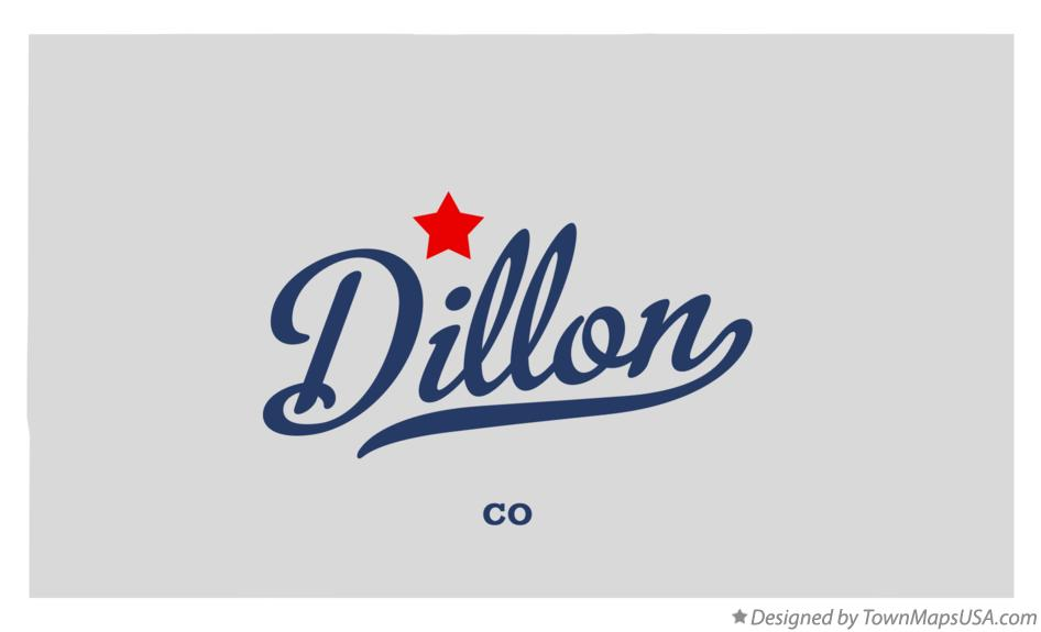 Map of Dillon Colorado CO