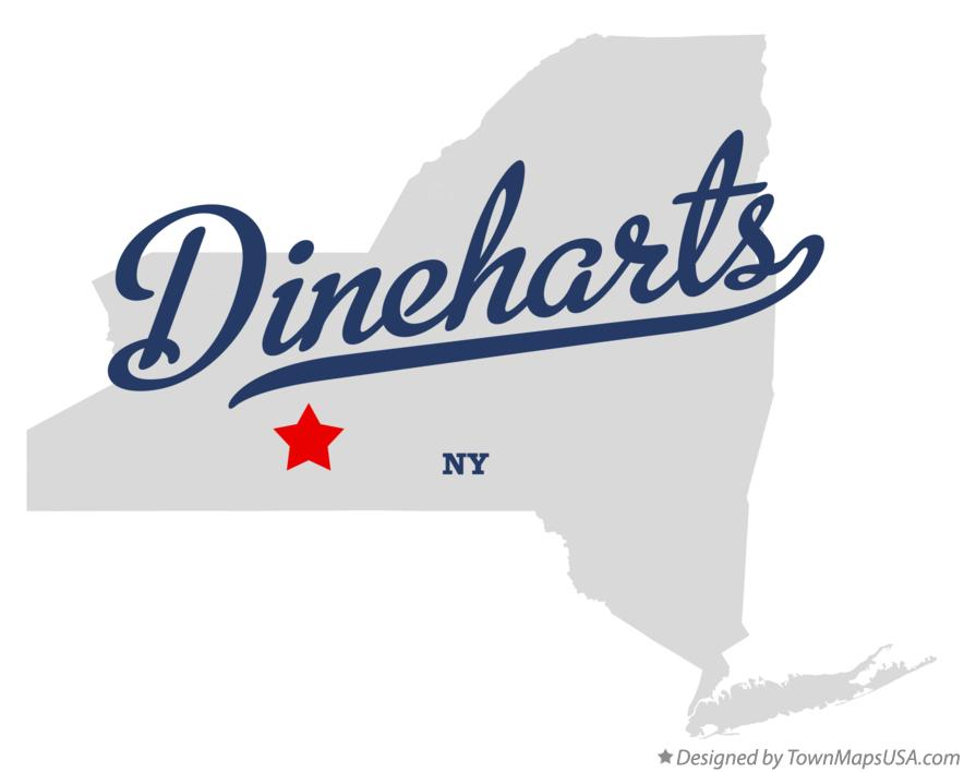 Map of Dineharts New York NY