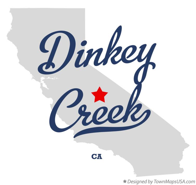 Map of Dinkey Creek California CA