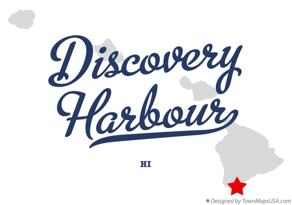 Map of Discovery Harbour Hawaii HI