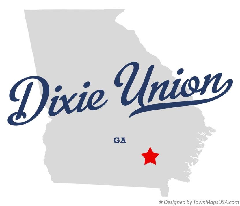 Map of Dixie Union Georgia GA