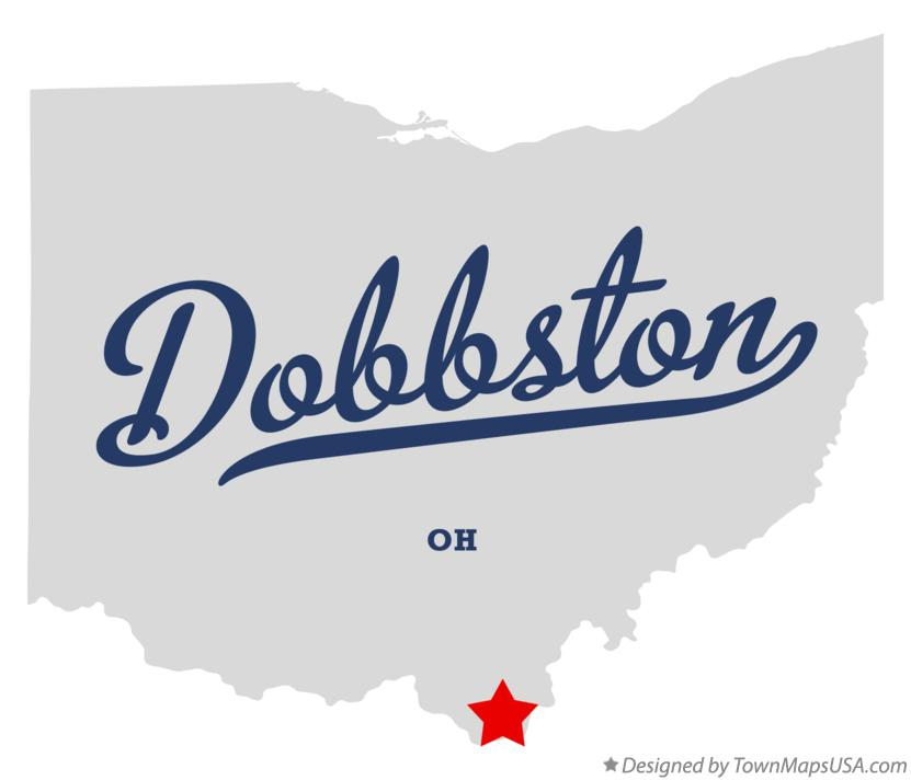 Map of Dobbston Ohio OH
