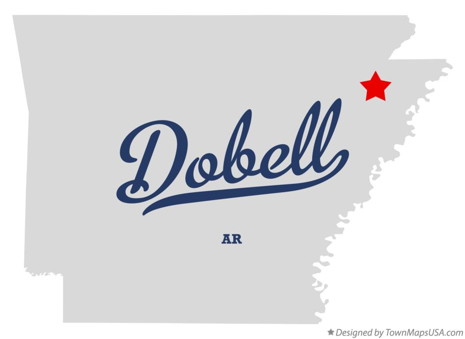 Map of Dobell Arkansas AR