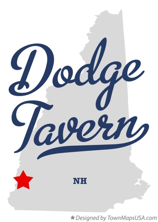 Map of Dodge Tavern New Hampshire NH