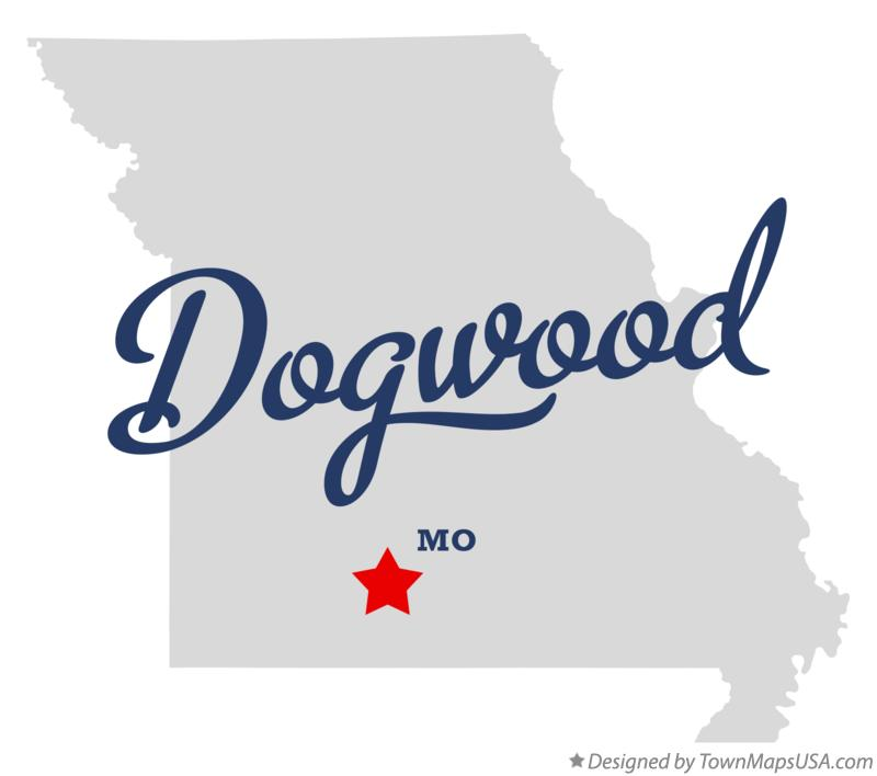 Map of Dogwood Missouri MO