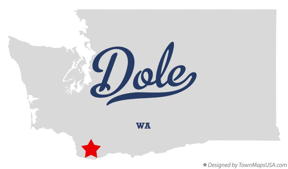 Map of Dole Washington WA