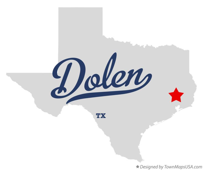 Map of Dolen Texas TX