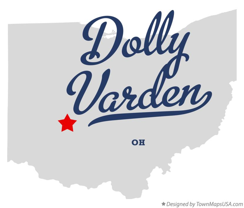Map of Dolly Varden Ohio OH