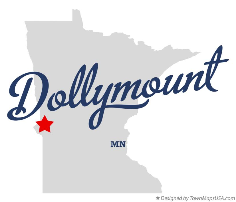 Map of Dollymount Minnesota MN