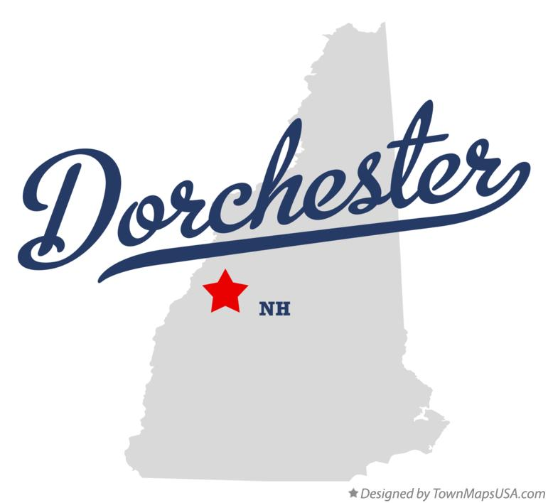 Map of Dorchester New Hampshire NH